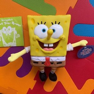 Retro SpongeBob Knows Your Name Interactive Toy
